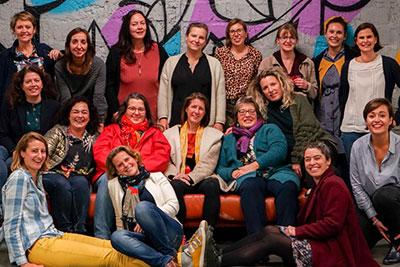 Les dames de la Club Normandie Pionnières Bootcamp